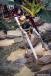 Fiora at River - League of Legends- Katsucon 2014 by ByndoGehk