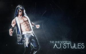 AJ Styles - Phenomenal by ChristoSivek