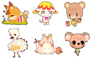 ACNL -- villager requests dec2014 by onisuu
