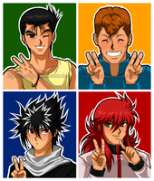 YuYu Hakusho Forever - Peace by BreakingSasuke