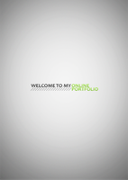 Welcome to my online portfolio by JaysusAlmighty