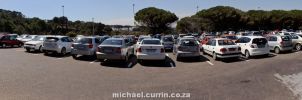 University parking pano by TheSoftCollision