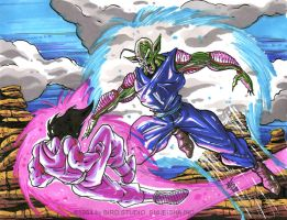 GOKU Vs LORD PICCOLO. by Galtharllin