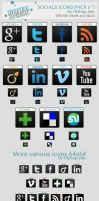Design Socials Icons by olybop