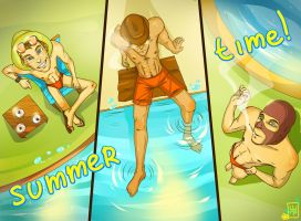 Summer time by Katree