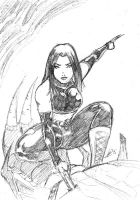 Rough X-23 Sketch by ZhaxRa