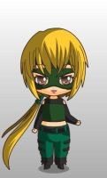 young justice artemis chibi style by MAHGOL-DC-LOVER