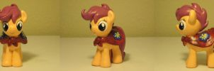 Scootaloo CMC MLP Custom Sculpture by Blackout-Comix