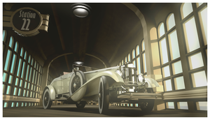 1930 Emerson Model J Coupe Low Front by Pixel-pencil