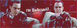 Sheldon Cooper is Batman by ManonGG
