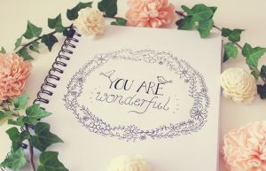 .:: You are wonderful ::. by Whimsical-Dreams