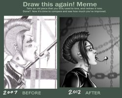 Sick Redraw Meme by Toxic--Vision