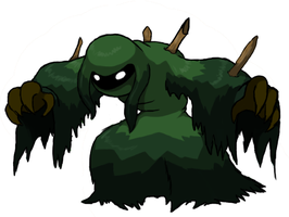 Swamp Zombie Grass-Dark Pokemon by KingofAnime-KoA