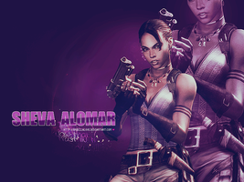 Sheva Alomar Wallpaper by BriellaLove