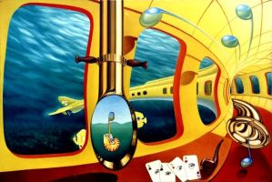 yellow submarine by gyurka
