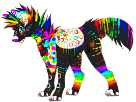 Rainbow Auction:. Closed by Scene-D0g-Ad0pts