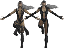 Mortal Kombat - Sindel pack XNAlara by MKiss333