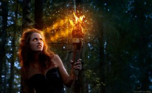 Torch of the damned by JenniSjoberg