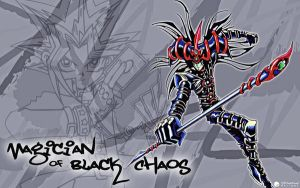 Magician of Black Chaos Graffi by l33tmeatwad