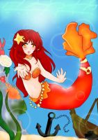 .:mermaid flaky:. by lil-moonknight