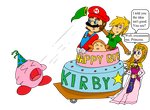 Kirby's 20th anniversary by Fanny-CM