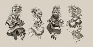 Summoner sketches by yaocchi