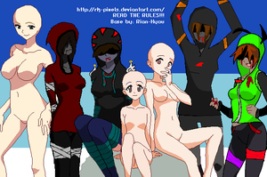 InvaderCel's l4d collab 2 OPEN by CaliforniaSigma