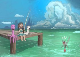 Day of Fishing by Spartan0627