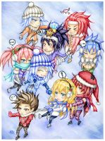 Tales of Symphonia Christmas card by stray-life