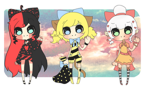 Adoptables Auction COLLAB by MissCyclops