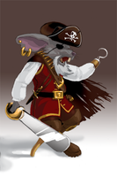 Pirate Mouse by cardboardshark