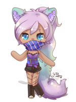 Wolf Girl by griff-chii