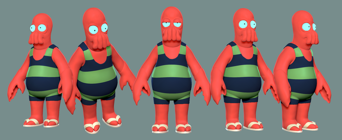 DR Zoidberg by Wicz3D