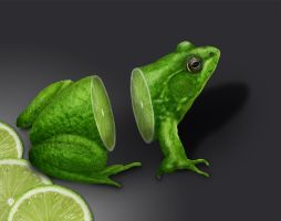 Lemon Frog by Arthur-Lima