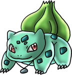 Bulby the Bulbasaur for TaishoBee by DragonessBlue