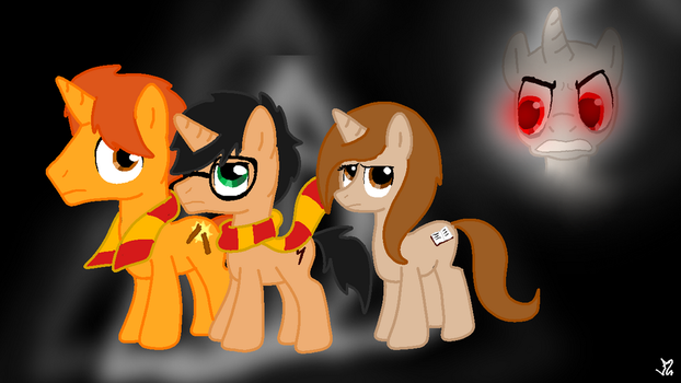 Mlp Harry Potter Version by LupiArts
