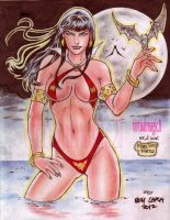 VAMPIRELLA by BOY LARA and RODEL MARTIN( 07032013) by rodelsm21
