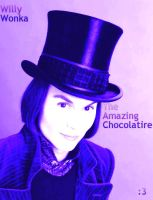 Willy Wonka in Violet and Blue by WilburRobinsonsGirl