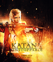 Katana Warrior by KaylaDavion