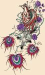 Phoenix Tattoo by Amethyst-Couture