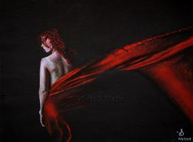 Red Silk by ladysofhousen