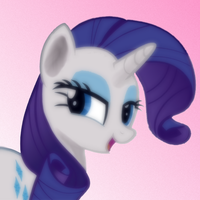 Miss Rarity costed me a lot of nerves. by Streiben