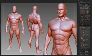 ALEX ROSS SUPERMAN 3D WIP by Reyknow