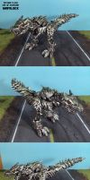 Age of Extinction Grimlock by Unicron9