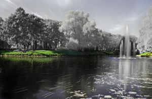Infrared fountain by edips