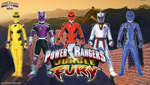Power Rangers Jungle Fury WP by jm511