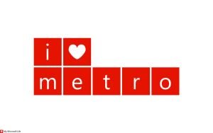 I heart metro Red by mymicrosoftlife