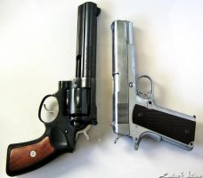 .357 Magnum and .45 - 05 by PxRxSxRx