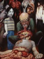 Zombies close up by DH666