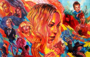 BEYONCE by Odyism